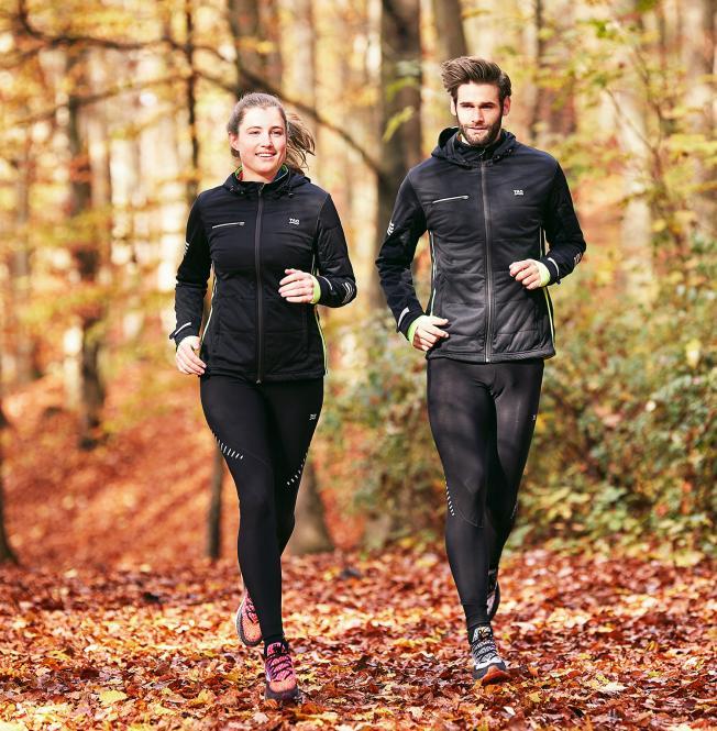 TAO Sportswear - NARNIK - Laufjacke mit maximaler Klimaregulierung - black