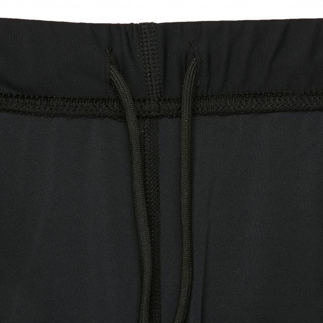 TAO Sportswear - XENI - Atmungsaktive 3/4-Lauftight mit feststellbarem Reißverschluss - black