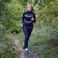 TAO Sportswear - POLA - Windstopper Damen Lauftight für kältere Tage - black