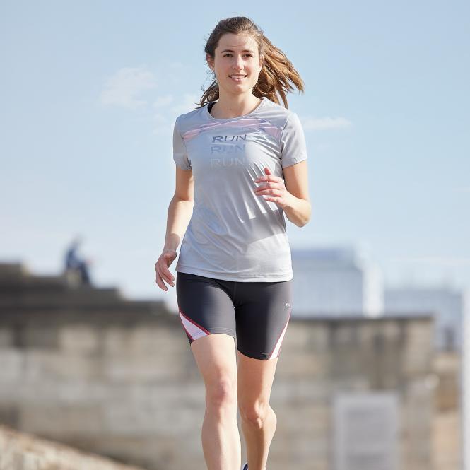 TAO Sportswear - EBRU - Atmungsaktives Running Shirt - cloud